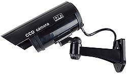 Questa fotocamera ficticia, che la funzione LED luce rossa realistico aspetto e spegnerà, ha nella sua casa per la sicurezza preocupaciones. farà è una fotocamera reale quasi competere, assicura una buona sensazione e aumenta la seguridad. wire-speed...
