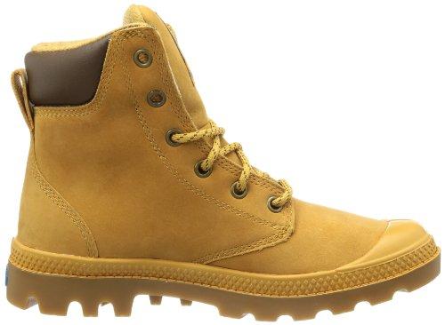 Palladium Pampa Sport Cuff WP, chaussures bateau mixte adulte Marron - Braun (Amber Gold/Mid Gum)