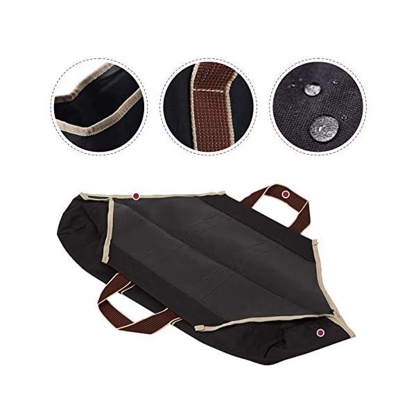 Bolsa de lona al aire libre, bolsa de almacenamiento de leña, bolsa de almacenamiento, bolsa, bolsa, almacenamiento de…