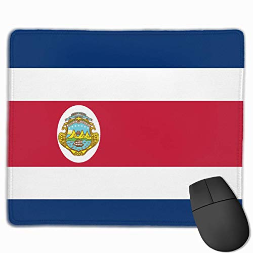 Costa Rica Flag Home Mouse Pads Mousepad Mats 9.8