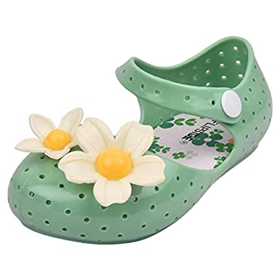 FLIPSIDE Kids Lily Green Sandals