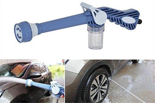 Garten Auto Waschen Sprühpistole mit Seifenspender Cannon 8in 1Düse Multi-Funktion