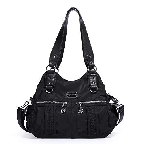 Designer Handtasche Nylon (Angel Marrio Damen Nylon Handtaschen Schultertaschen Top Geldbörsen Damen Designer Umhängetasche)