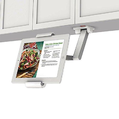 Tablet Wand-Halterung Halter / Für Küche Bett Tisch / mit Schwenkarm / Größen: 7 8 9 9,1 9,2 9,3 10 10,1 10,2 10,3 11 11,1 11,2 11,3 12 Zoll / geeignet für Lenovo Windows Medion Samsung Asus Acer (Vollbeweglich)