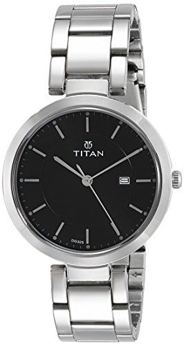 4. Titan Ladies Neo-Ii Analog Black Dial Watch