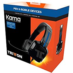 Tritton KAMA Kits PS4/ PS Vita Oreillette Casque Arceau Tête Connecteur(s):Jack 3,5 mm + Nintendo Switch
