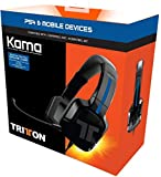 Tritton Kama Stereo Headset, schwarz - [PlayStation 4, PS VIta]