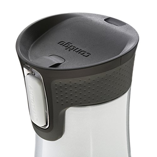Contigo Autoseal West Loop Stainless Steel Travel Mug, 470 ml – Polar White