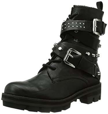 tamaris 25233 women biker boots black black 001 6 5 uk 40 eu shoes bags. Black Bedroom Furniture Sets. Home Design Ideas