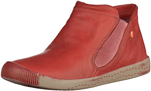 softinos 900086523 Damen Stiefelette Rot