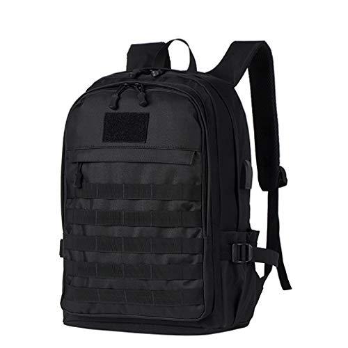 Gib niemals auf DREI-Ebenen-Tasche Mode Sport Camouflage Outdoor-Tasche Aufladen Rucksack Student Rucksack (Color : C) -
