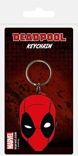 Marvel Comics RK38556C Schlüsselanhänger aus Gummi, Mehrfarbig, 4.5 x 6 cm 6 X 4.5 Film