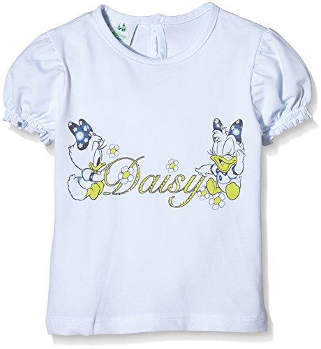 Disney Baby - Mädchen Schlafanzugoberteile  T-Shirt , weiß, größe 18 monate