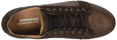 Redskins Mens Walko High Top Brown (noce Marrone)