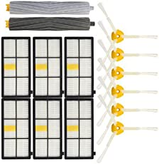 Generic 14Pcs Vacuum Cleaner Accessories Kit Filters And Brushes For Irobot Roomba 800 900 Series