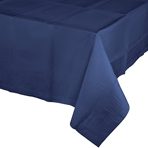 Creative Converting Lot de 6 housses de table en papier Bleu marine
