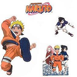 Naruto Anime–Pegatinas y adhesivos de pared niños habitación decoración