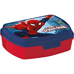 Stor ST47374 - Scatola Box Portamerenda Spiderman