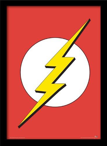 DC Comics 'Flash' Memorabilia, 30 x 40 cm