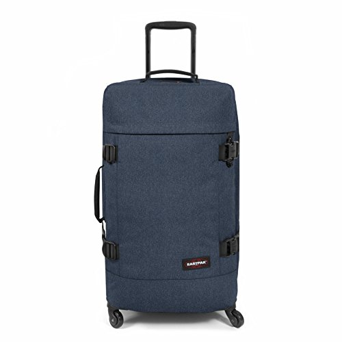 Eastpak Trans4 M Valigia, 70 cm, 68 L, Blu (Double Denim)