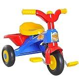 HOMCOM Kinderdreirad Dreirad Kinder Fahrrad Kinderfahrzeug Rad Lufthorn Baby Bunt L60 x B42 x H45 cm von MH Handel GmbH