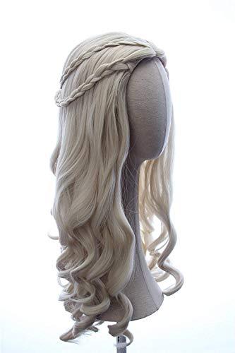 Pelo mujeres chica blanca larga rubia rizado Reina