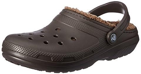 Crocs Unisex Adults' Clsclinedclog Clogs, Brown (Espresso/Walnut), M6/W7 UK (39/40 EU)