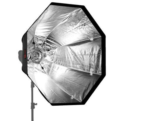 JINBEI K-120 Octagonal Umbrella Softbox erweiterbar mit Grids/Waben