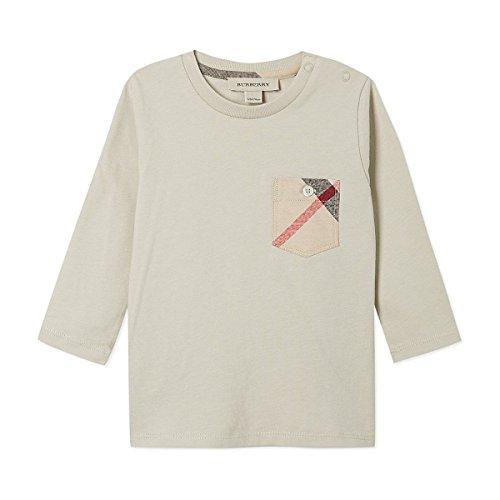 Burberry Herren T-shirts (BURBERRY T-Shirt Beige - 3 Monat, Beige)