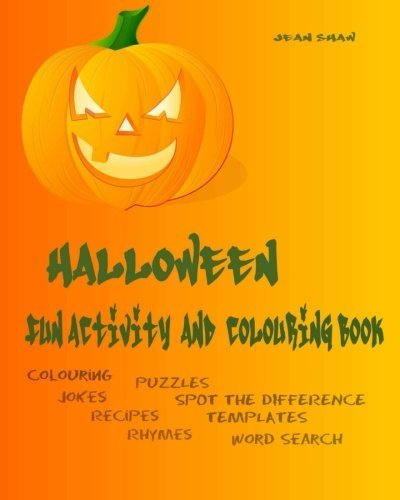ty and Colouring Book: Colouring, Jokes, Rhymes, Recipes, Word Search (Special Occasion Fun Activity Books) (Volume 1) by Jean Shaw (2015-10-20) (Halloween Word Search)