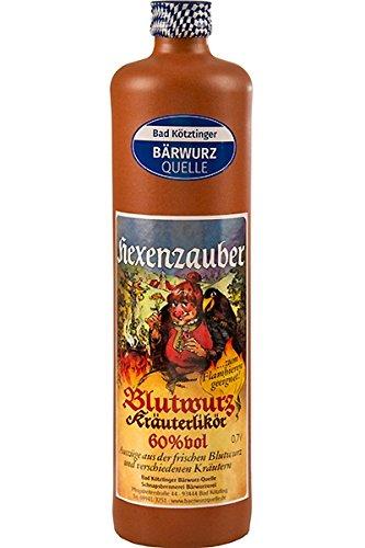 Bad Kötztinger Hexenzauber Blutwurz Kräuterlikör 60% vol 0,7 L