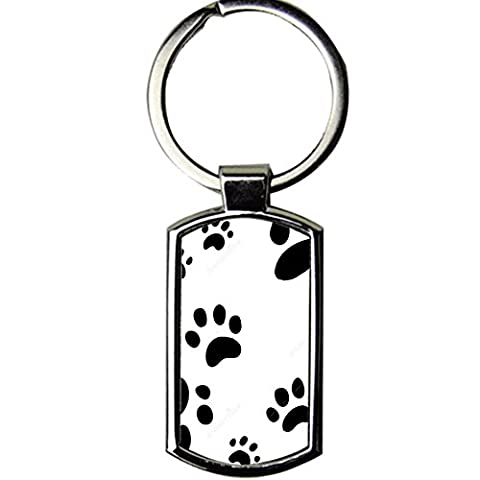 Generic Design Dog Paw 4 Metal High Quality For Key Ring For Child