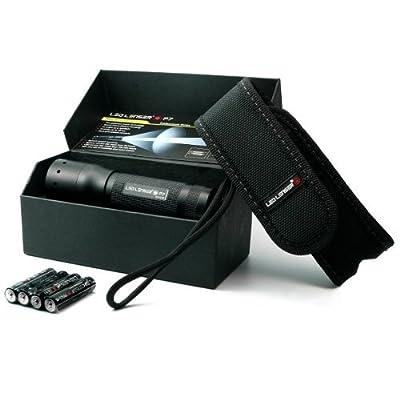 Zweibrüder LED Lenser P7 Taschenlampe (1x Cree LED, 4x AAA) schwarz von Zweibrder bei Lampenhans.de