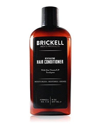 8 Unzen Verlassen (Brickell Men's Revitalisierender Conditioner für Männer - 8 oz - Natürlich und Organisch)