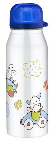 Alfi 5337687035 Isolier-Trinkflasche edelstahl (0,35 Liter) farmily weiß