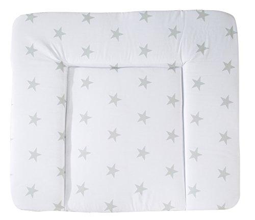 roba Wickelauflage Little Stars, 85 x 75 cm, weiche Wickelunterlage, Baby Wickeltischauflage PU beschichtet