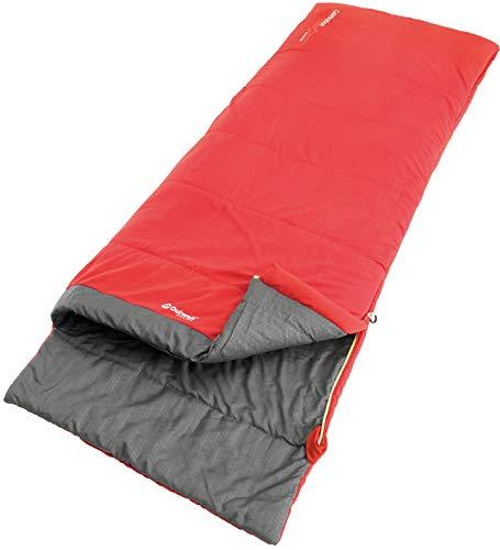 Outwell Celebration Lux Sleeping Bag Red Ausführung Right Zipper 2019 Schlafsack