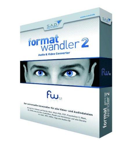 Formatwandler 2, CD-ROMAudio & Video Converter. Der universelle Umwandler für alle Video- und Audiodateien