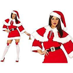Disfraz de mama Noel extra adulta talla-M