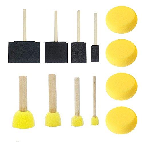 wamm-Bürste verschiedene geformte und sortiert, Aquarell-Schwämme für das Malen, Handwerk ()