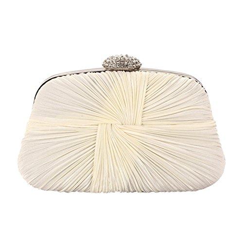 Yiwa , Damen Clutch Creamy-White
