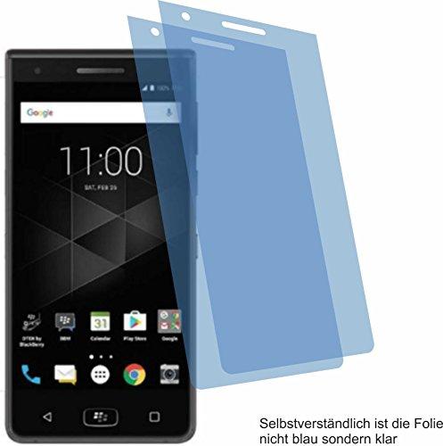 4ProTec 2X Crystal Clear klar Schutzfolie für BlackBerry Motion Bildschirmschutzfolie Displayschutzfolie Schutzhülle Bildschirmschutz Bildschirmfolie Folie