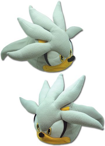 GE Animation GE-32355 Sonic the Hedgehog - Silver Sonic Head Fleece Cap by GE Animation