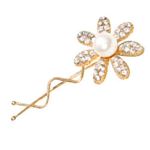 Motif Fleur 3Pcs Lady Coiffe Diamant Hairpin