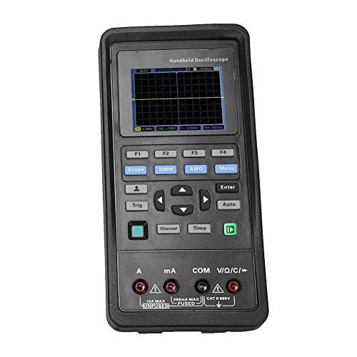 Oscilloscope Multimeter Hantek 2D72/2D42 USB Oscilloscope 70MHz/40MHz + 25M Signal Generator AC100-240V 2 Channels Oscilloscope(Hantek2D42)