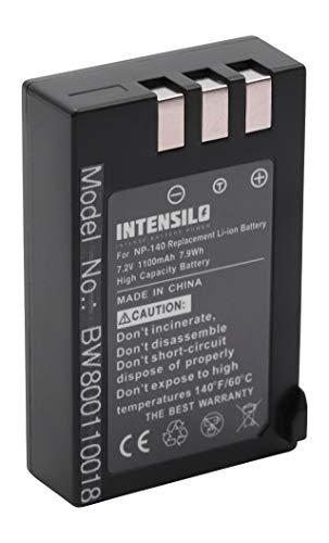 INTENSILO Li-Ion Akku 1100mAh (7.2V) für Kamera Camcorder Video Fuji/Fujifilm FinePix S100, S100FS, S200, S200EXR wie NP-140. Finepix Camcorder