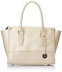 Diana Korr Womens Handbag (Beige) (DK44HBEI)