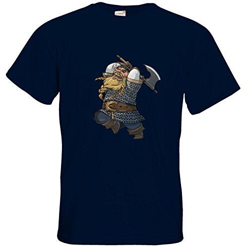 getshirts - Das Schwarze Auge - T-Shirt - Let's Plays - Bokklawash - Chibi Navy