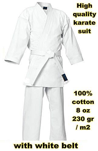 mmasport Kimono Karate 100% Cotton 230 gr 8 oz (4/170 cm)