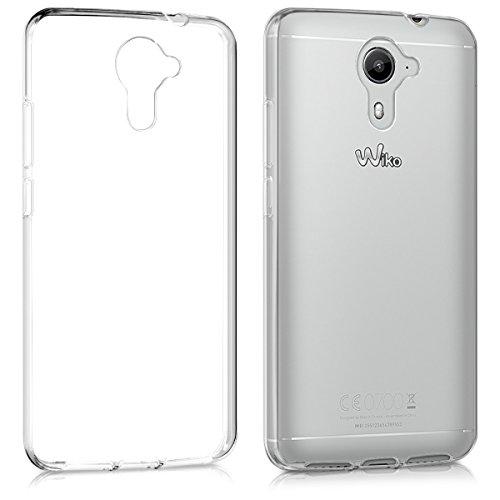 kwmobile Wiko U Feel Prime Hülle - Handyhülle für Wiko U Feel Prime - Handy Case in Transparent